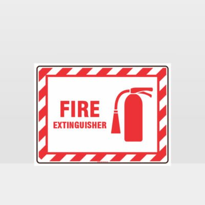 Fire Extinguisher 01 Sign