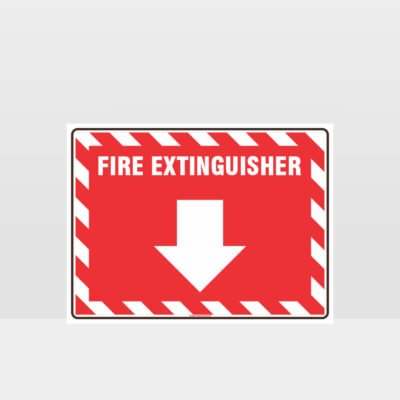 Fire Extinguisher 02 Sign
