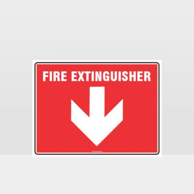 Fire Extinguisher 07 Sign
