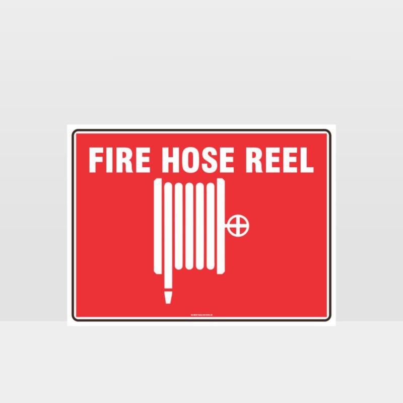 Fire Hose Reel Image Sign