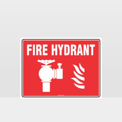 Fire Hydrant Symbol Sign