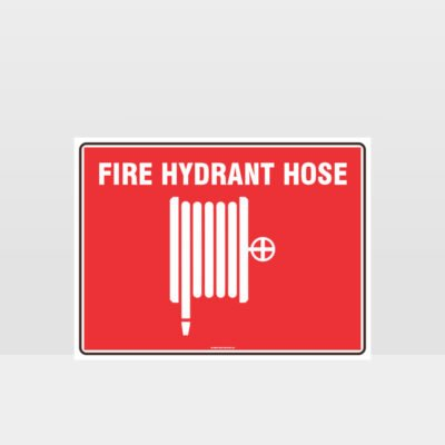 Fire Hydrant Hose Sign