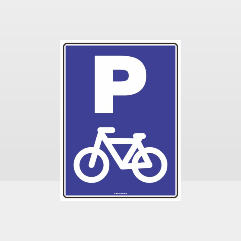 Bicycle Parking Only Sign