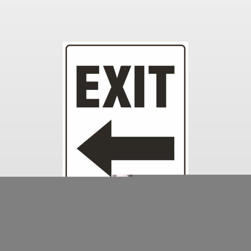 Entry Left Sign