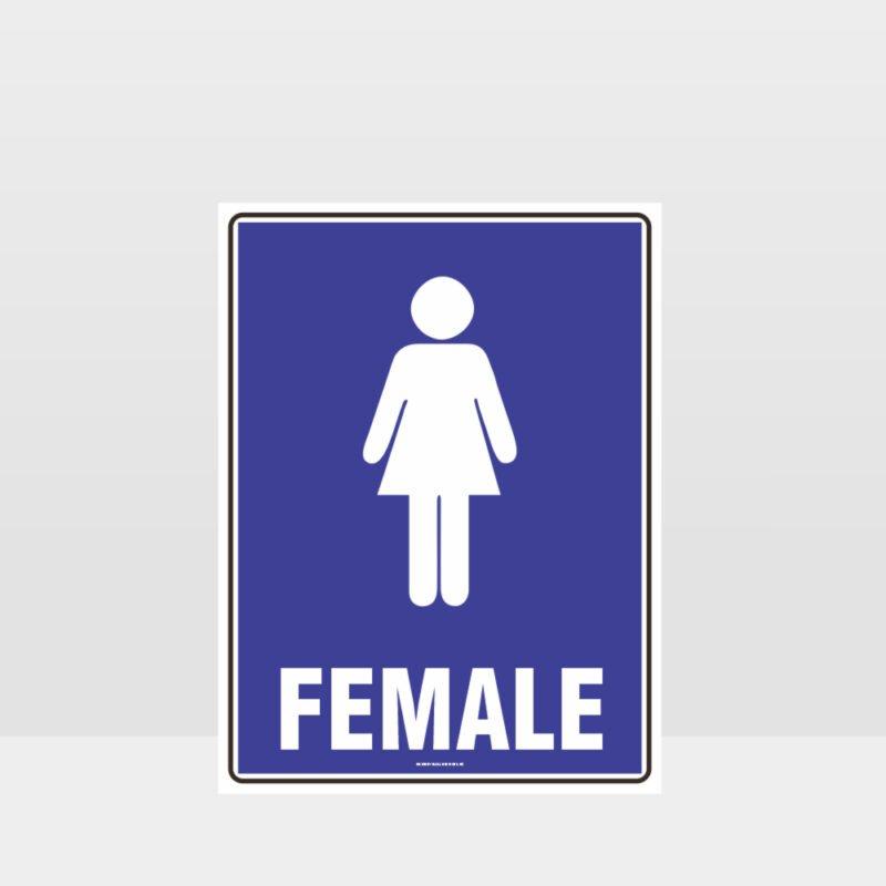 Female Toilet Sign