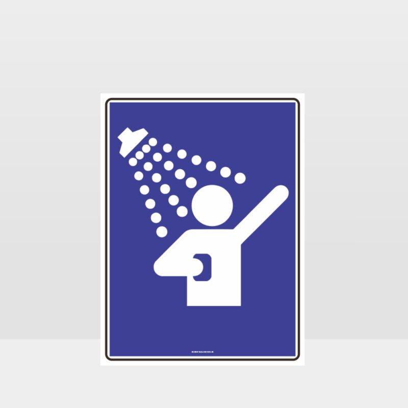 Shower Symbol Sign