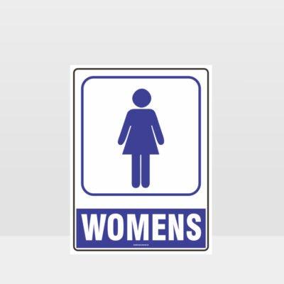 Womens Toilet Symbol Sign