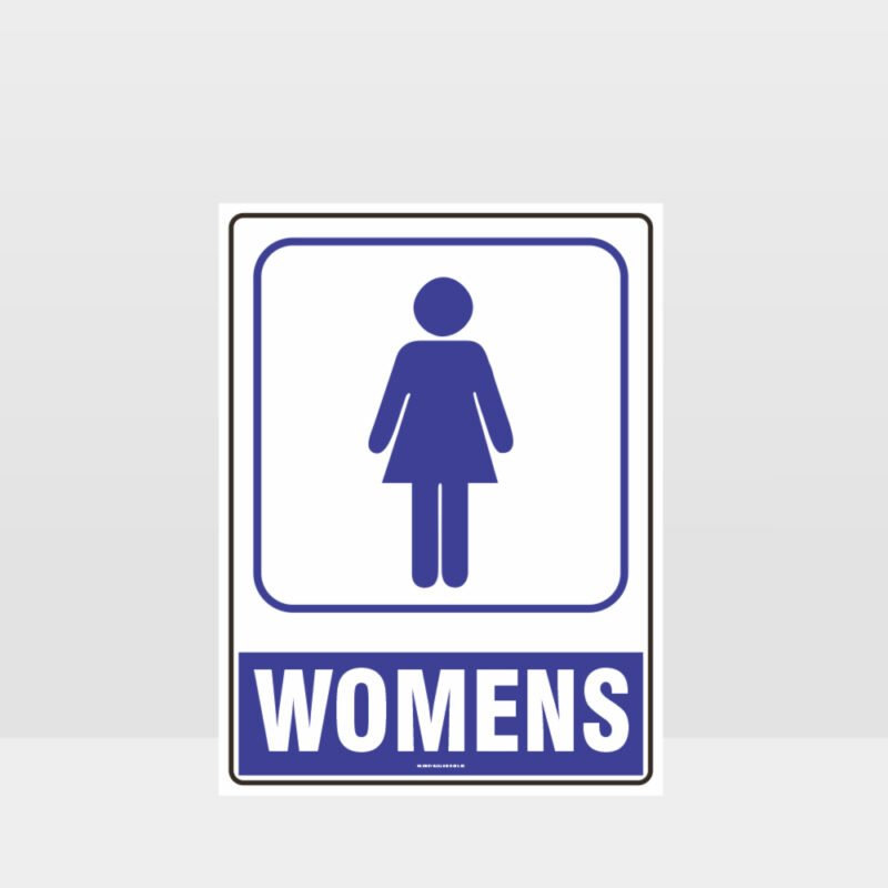 Womens Toilet Sign