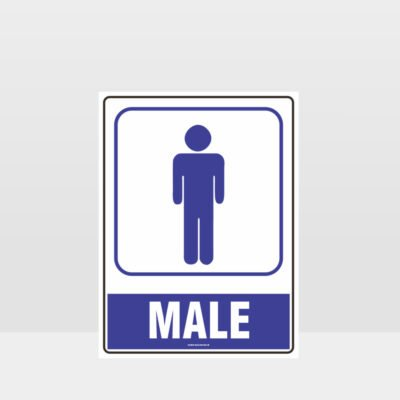Male Toilet Symbol Sign