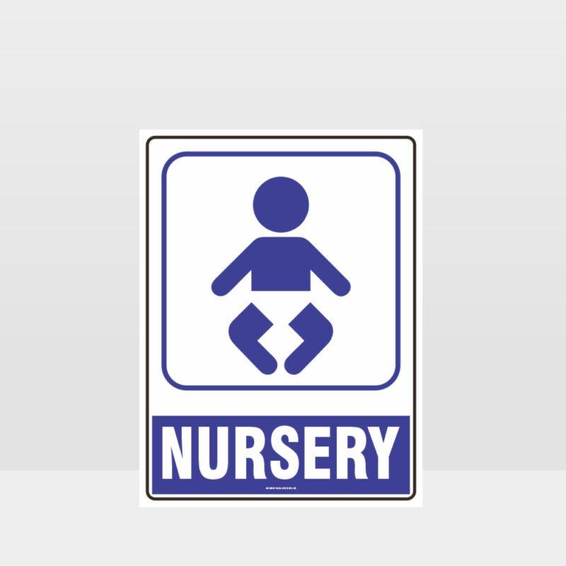 Nursery Symbol Sign