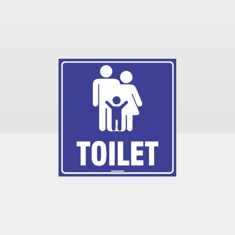 Family Toilets Sign 3