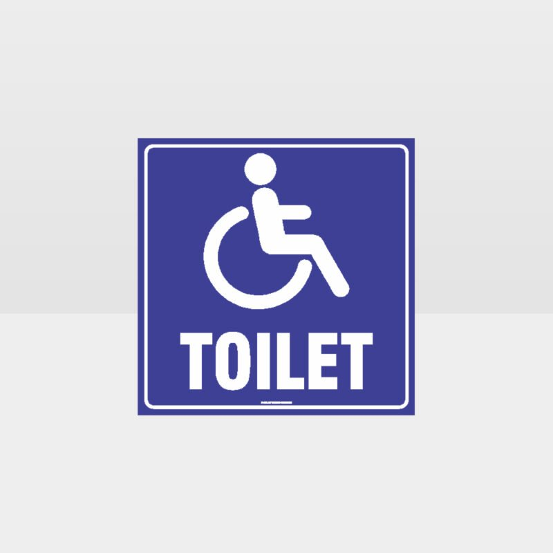 Accessible Toilets Sign