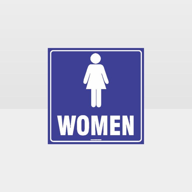 Women's Toilet Sign