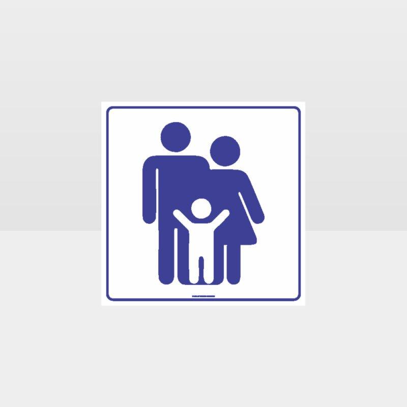 Family Toilets Symbol Sign
