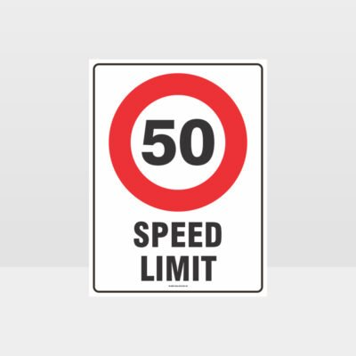 50 KPH Speed Limit Sign