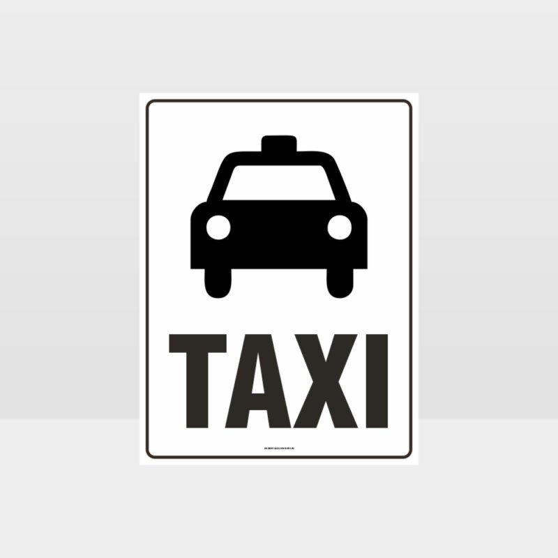 Taxi Parking Sign