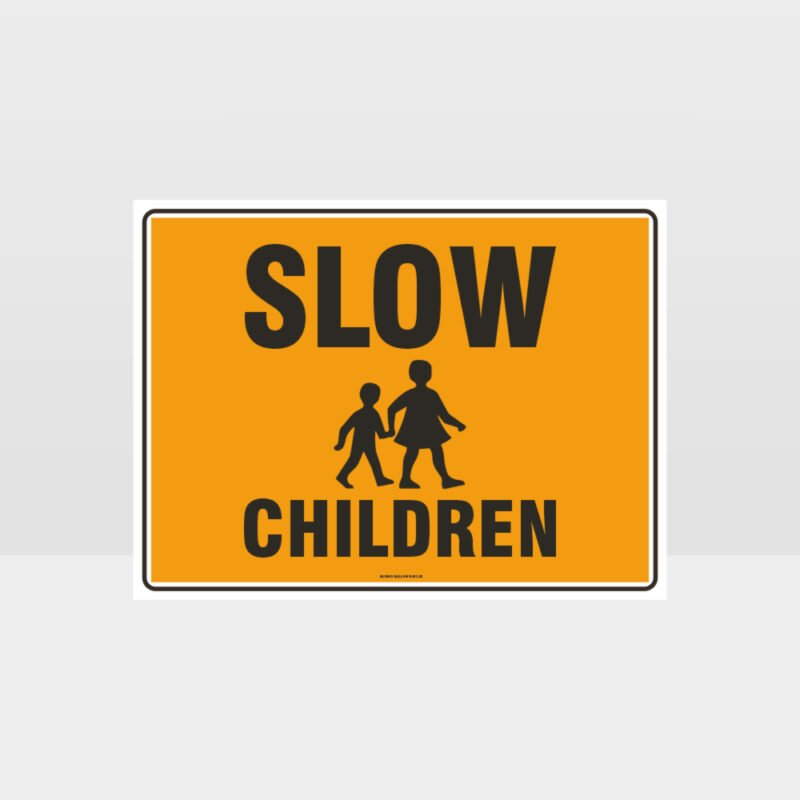Slow Children L Sign