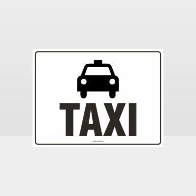 Taxi L Sign