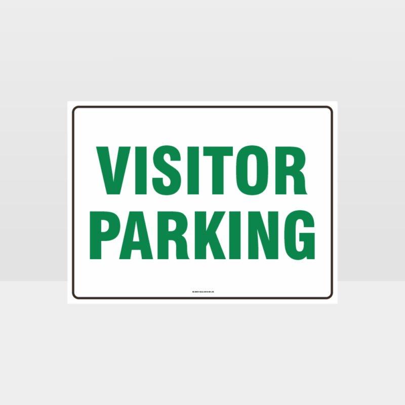 Visitor Parking L Sign