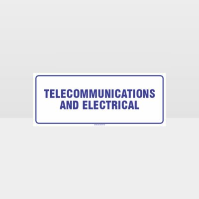 Telecommunications And Electrical Sign