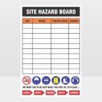 Site Hazard Board Sign