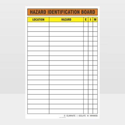 Hazard Identification Board
