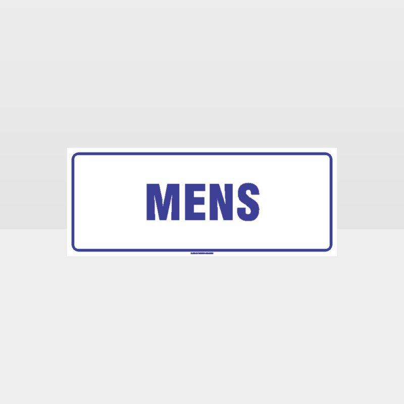 Mens Toilet Sign