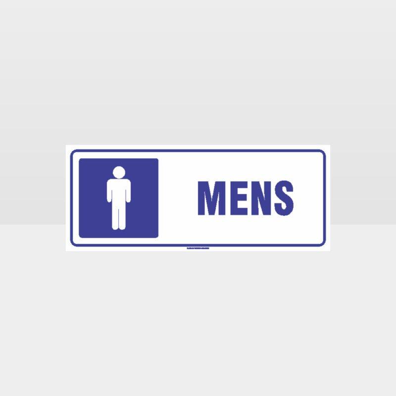 Mens Toilet Symbol Sign