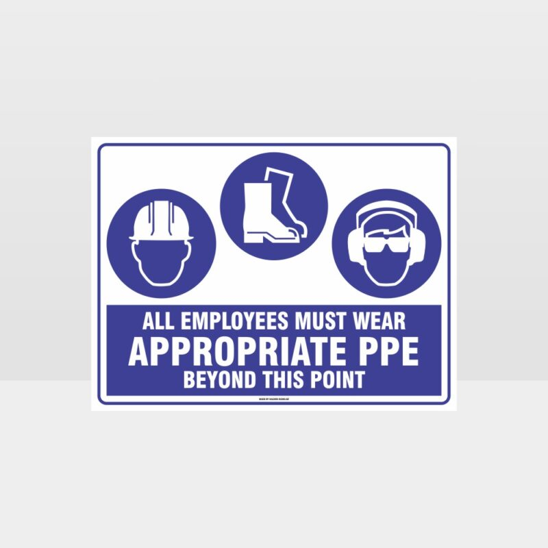 Appropriate PPE Beyond This Point 273