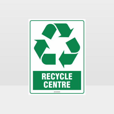 Recycle Centre Sign