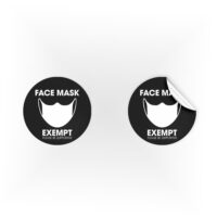 COV04-Face-Mask-Exempt-Supportive-Black-Sign