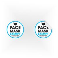 COV09-Face-Mask-Exempt-Thankyou-Blue-Sign